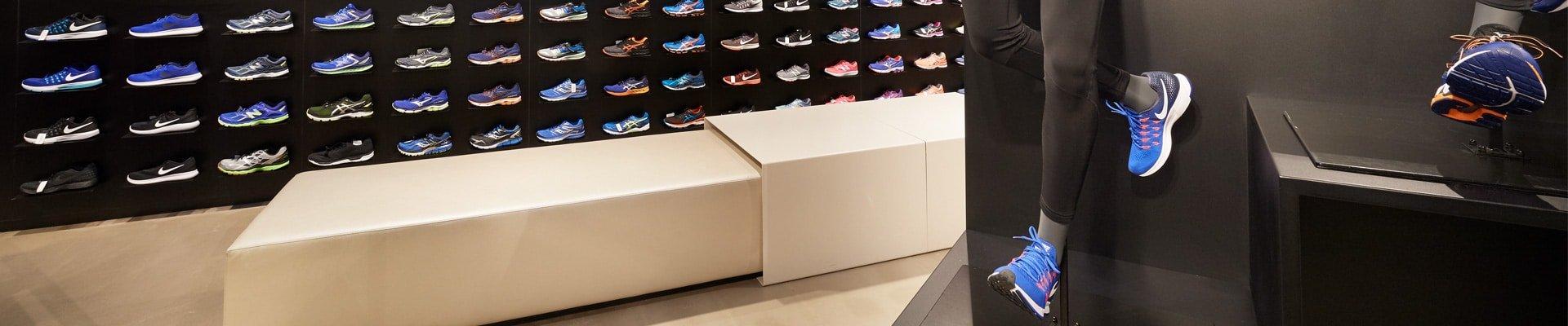 sfeerbanner schoenen sport